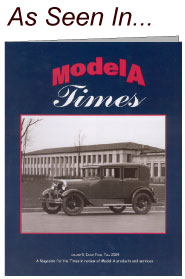picture of cover of Model A Times